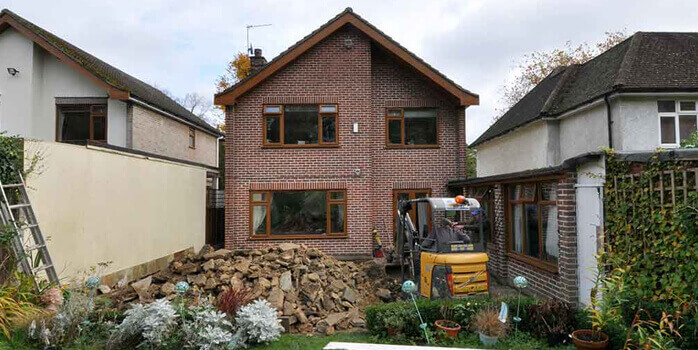 Construction and renovations of London property