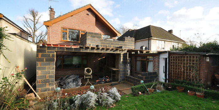extension to property in London
