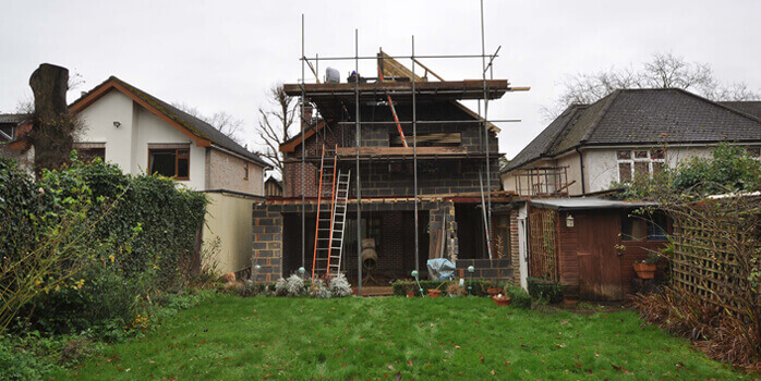 rear extension in Whetstone
