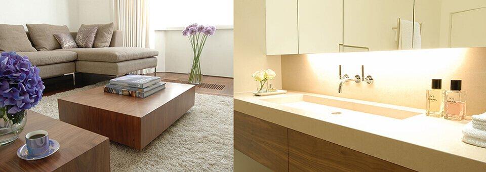 Interior or architecturally designed home