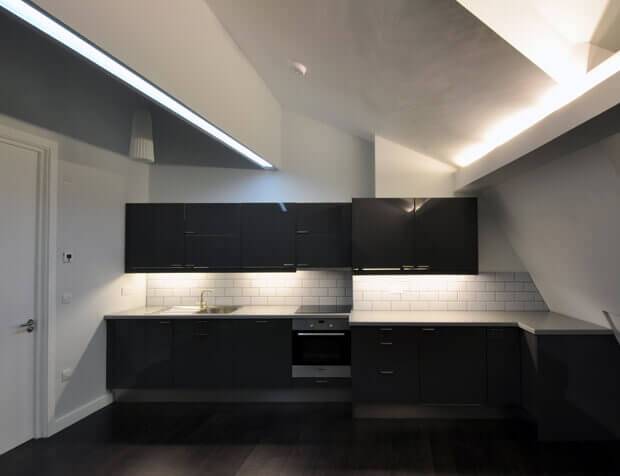 Architectural designed kitchen in London