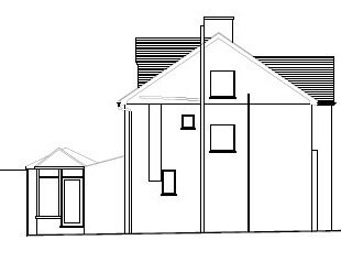 Architectural plans of proposed development
