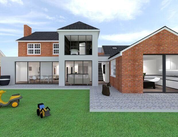 Residential Extension in London