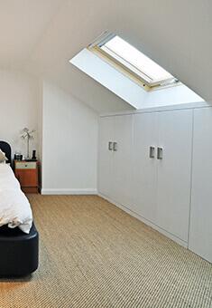 Briarwood property bedroom area