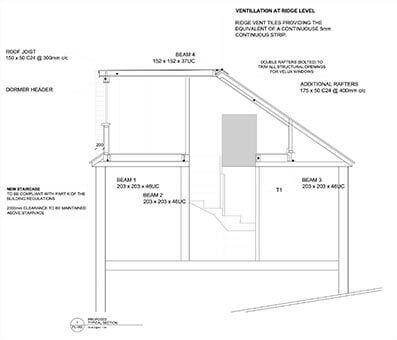 Briarwood architectural drawings