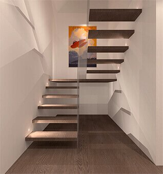 Stairs designed by MSK Design