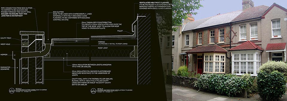 Extension plans and London property