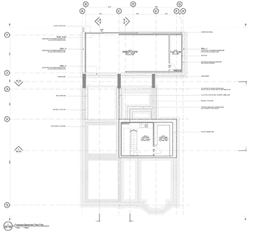 Glenluce architectural plan of floor area