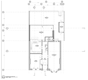 Glenluce proposed house elevation
