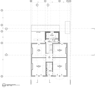 Glenluce drawings of house