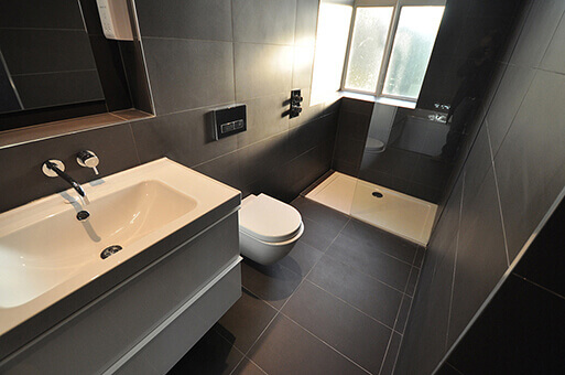 Bathroom in Holmbush court property