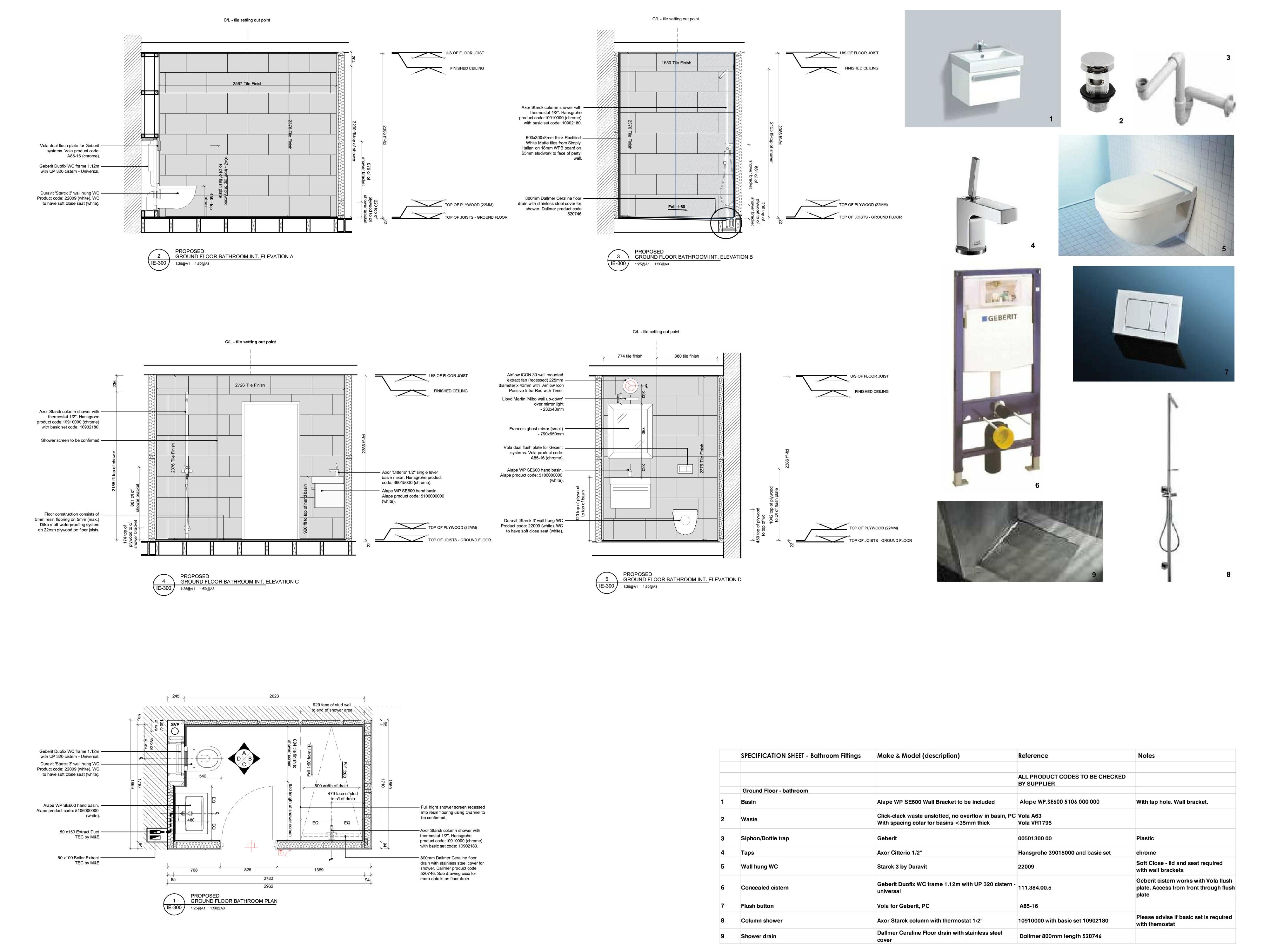 New loft plans at London property