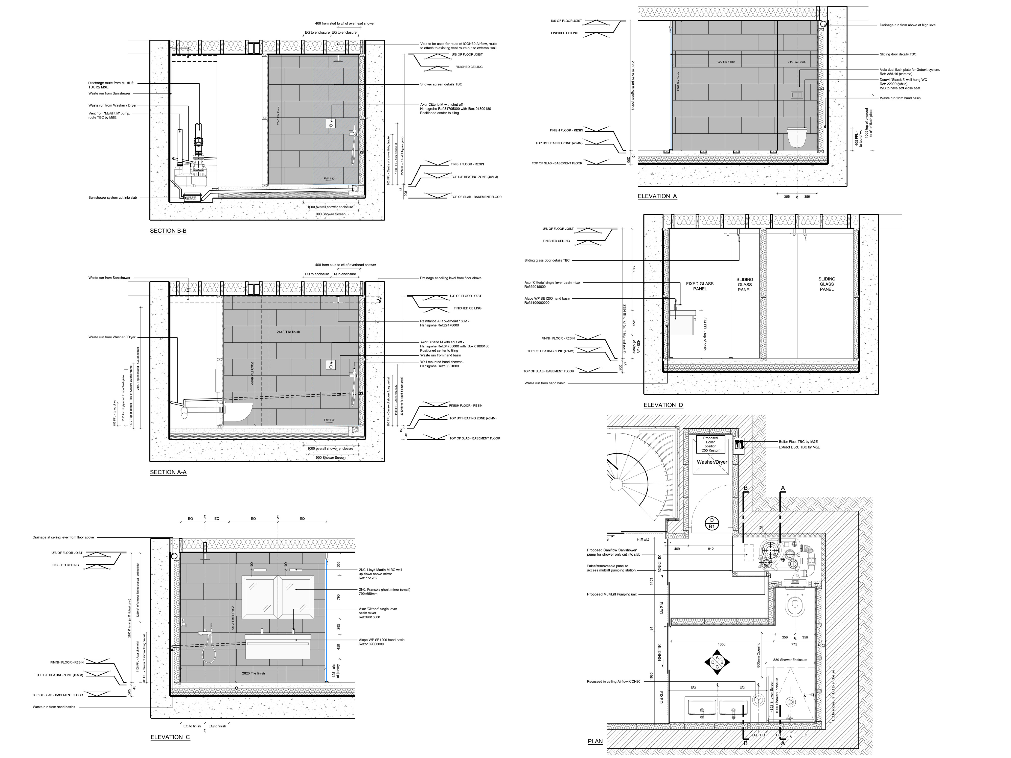 Ladbroke road plan of house
