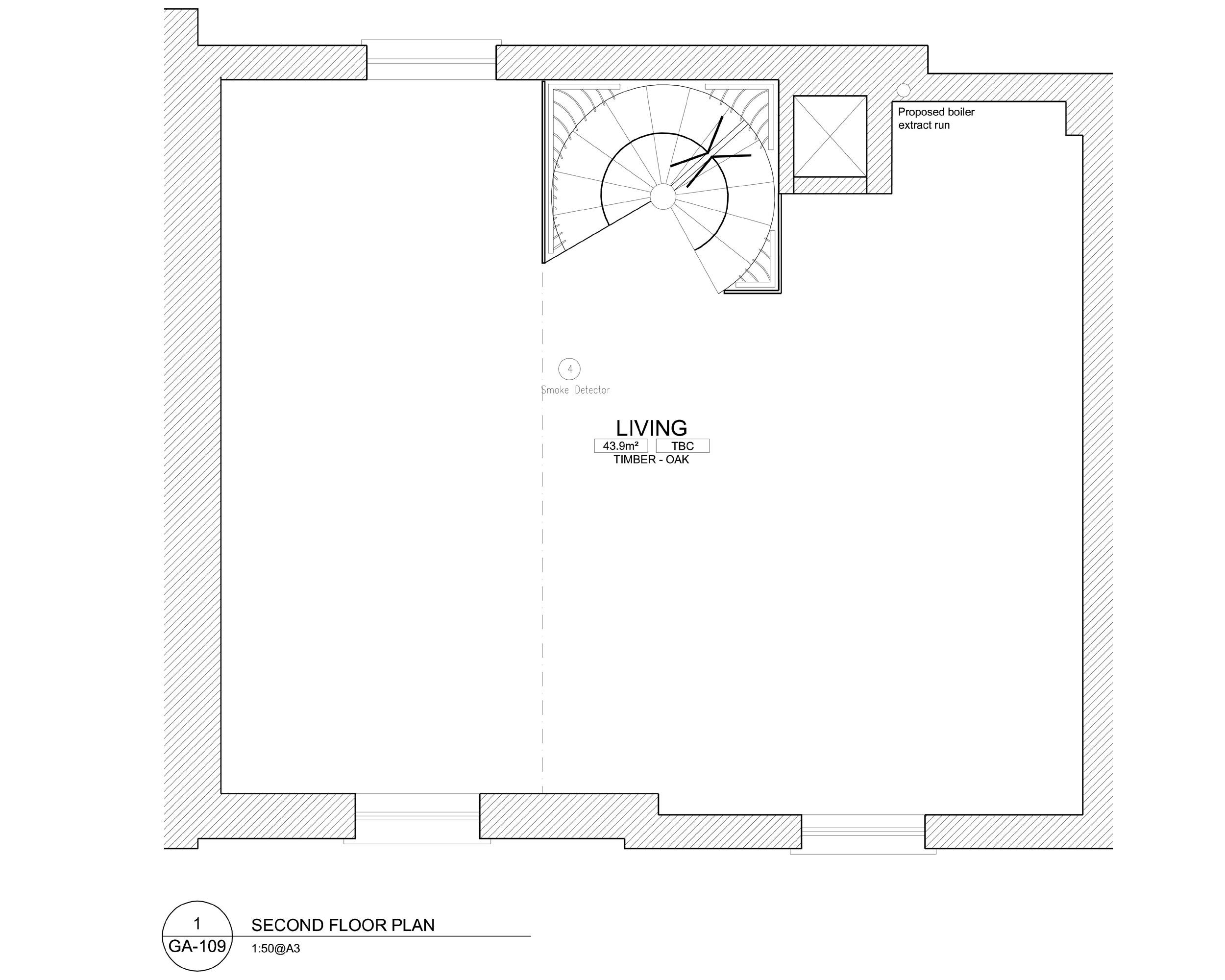 Floor plans for Ladbroke Road