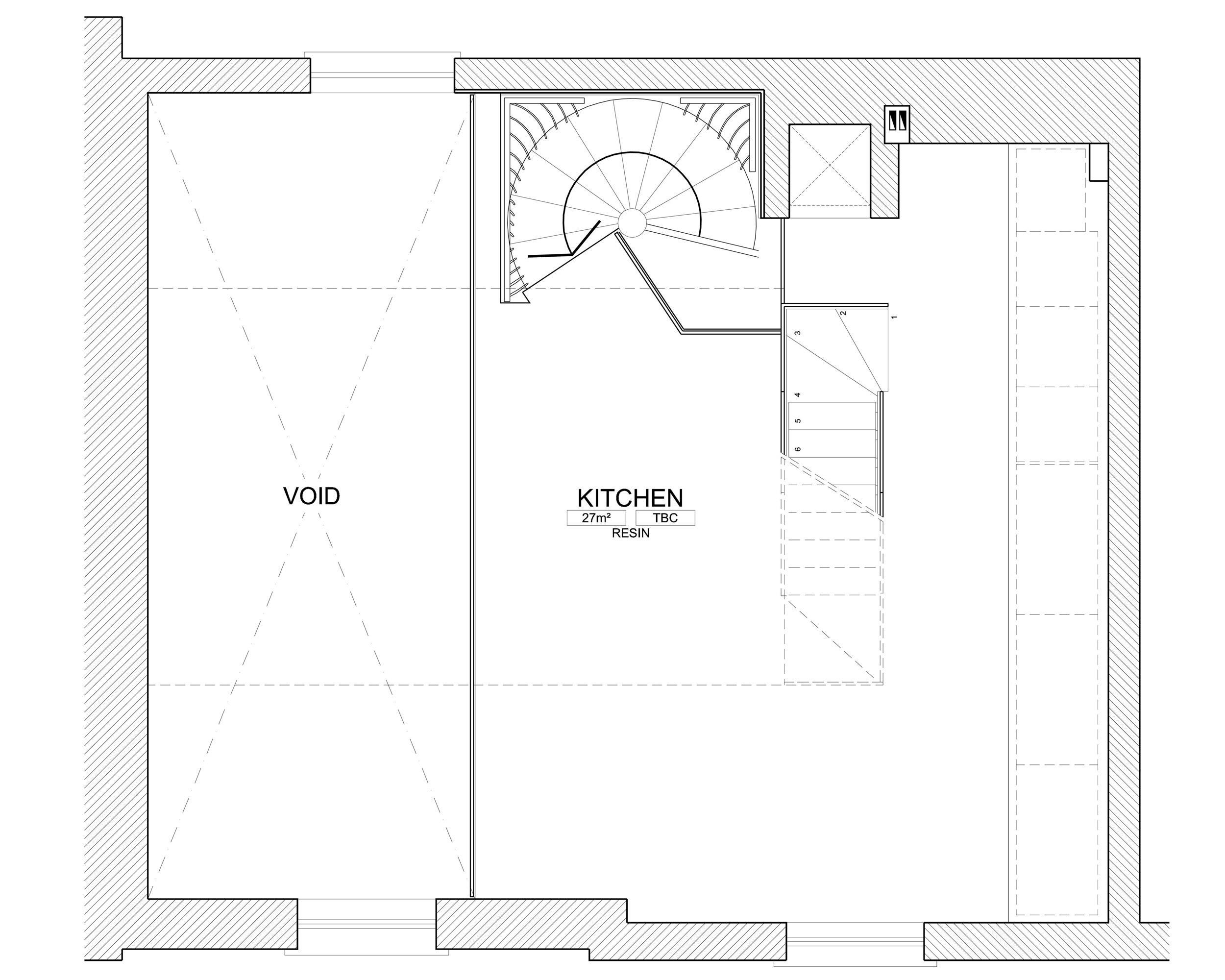 Ladbroke Road floor plans