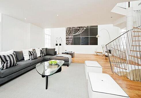 Ladbroke Road architectural designed living