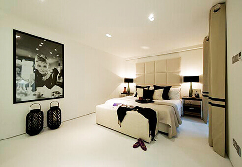 Ladbroke road new bedroom area