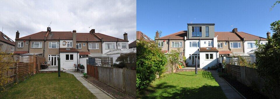 Loft conversions London property