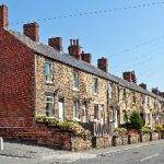 small terraced houses